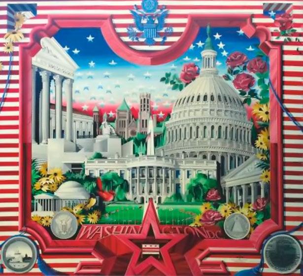 Panneaux Corporate Art Washington