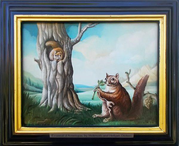 Ecureuil d' Amerique