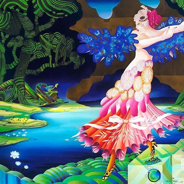 La belle et la bete (Metaphysische Kunst)