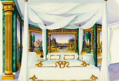 Panneaux für Scheich Schlafzimmer