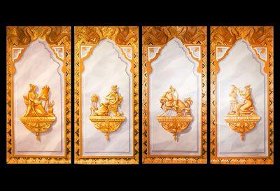 4 Muses Empire auf Panneaux