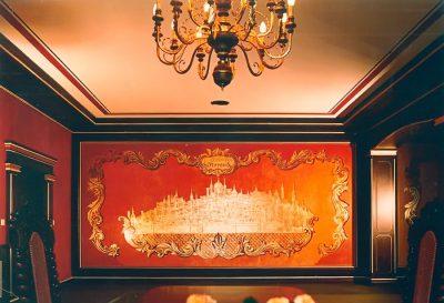 Wandmalerei Ritter Palais (Stadtbild Florenz)