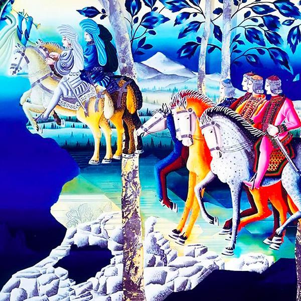 Metaphysische Malereien - DIEKEN ART INTERIORS