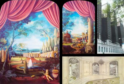 Hellmuth Dieken - Four Fine Art Murals