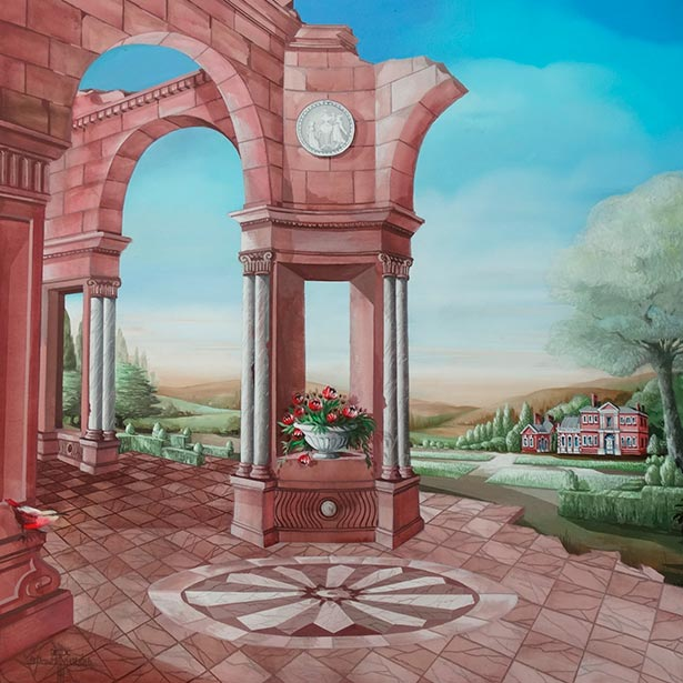 Hellmuth Dieken - Red Stone English House